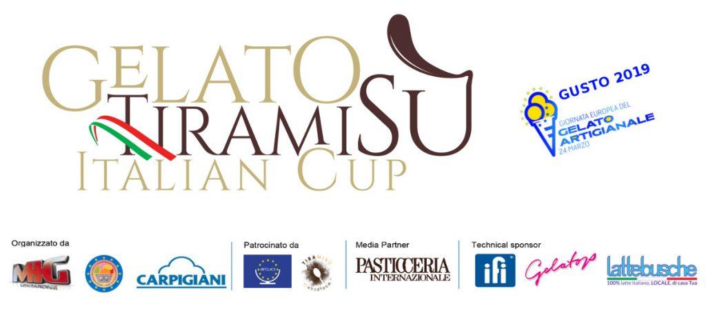 Logo Gelato Tiramisu Italian Cup