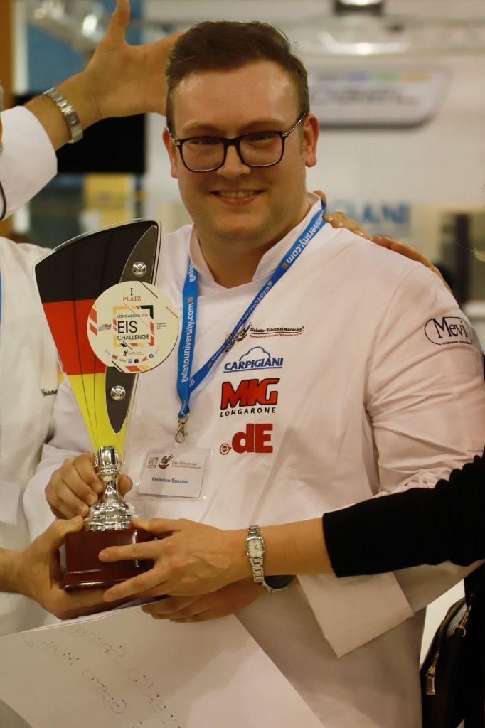 Federico Sacchet vince il Longarone Eis Challenge