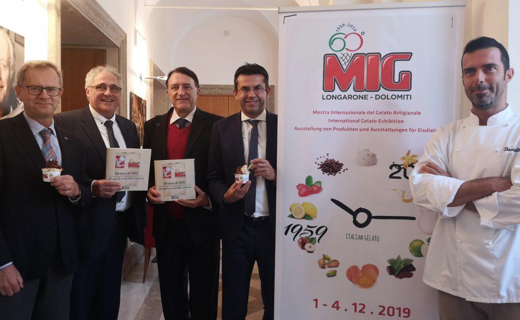 MIG 60 Presentata a Roma in Sala Stampa Estera